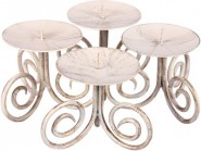 Nail Iron 4 - Cup Candle Holder Set
