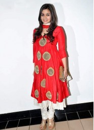 Alia Bhatt Red Hot Anarkali Suit