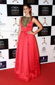Katrina Kaif Anarkali At Loreal Femina Women Awards
