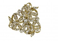 kshitij brooch with white stones 010 KJB