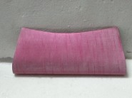 kshitj Raw silk pink clutch KJC 111