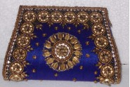 Kshitij Silk Dark Blue Clutch (KJC 13)