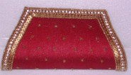 Kshitij Silk Red Clutch (KJC 17)