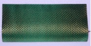 Kshitij Silk Green Clutch (KJC 24)